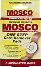 Mosco One Step Corn Remover Pads   Maximum Strength Salicylic Acid   8 medicated pads   Pack of 6