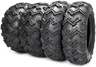 MILLION PARTS 4 ATV/UTV Tires AT 25x8-12 Front & 25x10-12 Rear/6 Ply P306B Full Set of