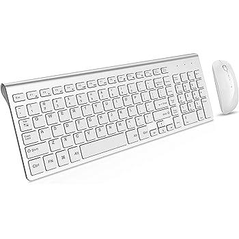 Tbagem-Yjr Wireless Keyboard and Mouse Set Desktop Laptop Dedicated Keyboard for Women Girls