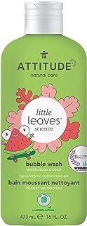 Attitude Little Leaves Natural Bubble Bath For Kids - Watermelon And Coco - 473 ml