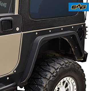 jeep tj cut rear fenders