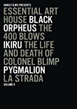 Essential Art House, Volume II (Black Orpheus / The 400 Blows / Ikiru / The Life and Death of Colonel Blimp / Pygmalion / ...