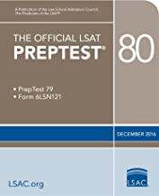 The Official LSAT PrepTest 80 (Official LSAT PrepTests)