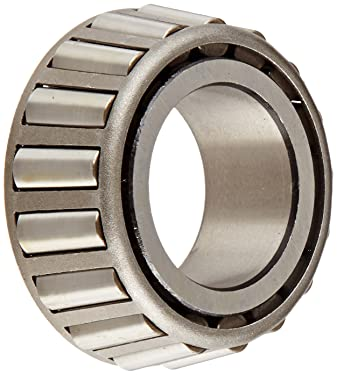 "Timken 2780 Tapered Roller Bearing, Single Cone, Standard Tolerance, Straight Bore, Steel, Inch, 1.4365"" ID, 1.0100"" Width"
