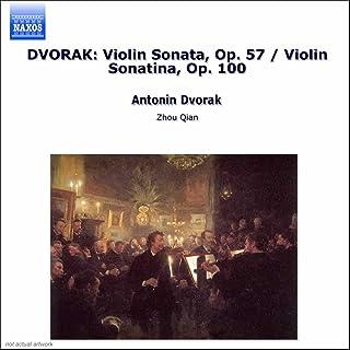 Dvorak: Violin Sonata, Op. 57 / Violin Sonatina, Op. 100