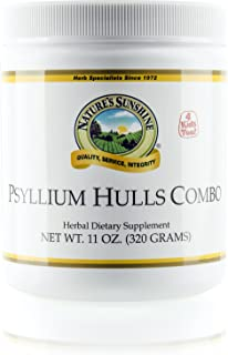 Nature's Sunshine Psyllium Hulls Combination, 11 oz.   Organic Intestinal System Support is High in Soluble Fiber Which Facilitates The Process of Waste Elimination