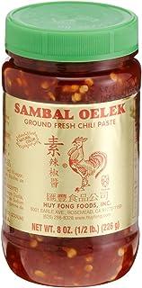 Huy Fong, Sambal Oelek Chili Paste, 8-Ounce Bottles (Pack of 6)