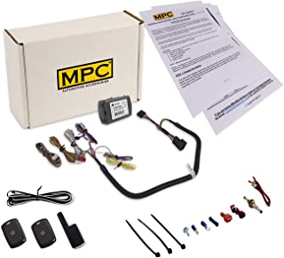 MPC Complete 1-Button Remote Start Kit for 2011-2014 Chrysler 200 - T-Harness - Key-to-Start - Firmware Preloaded