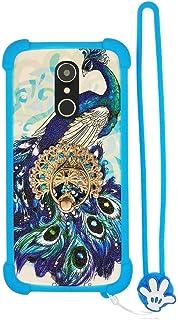 Custodia per ngm You Color Smart 5 Plus ngm You Color Smart 5 Custodia Bordo del Silicone + PC Card Stand Case Cover XKQ