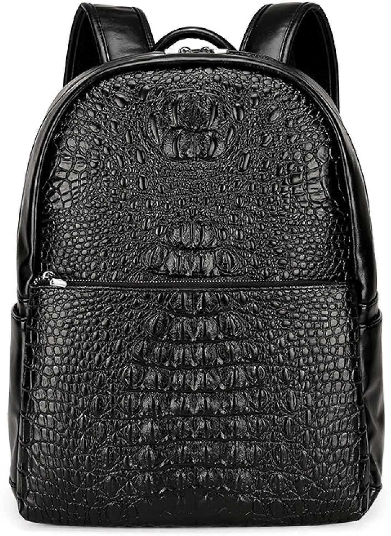 Casual Fashion Shoulder Bag Backpack Rucksack Student Bag,Black