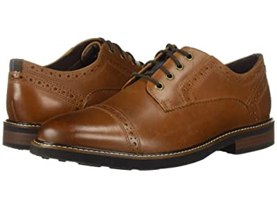 Nunn Bush Overland Cap Toe Oxford with KORE Walking Comfort Technology (Tan CH) Men