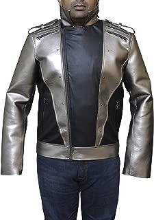 Even Peter Quicksilver 2 X-Man Apocalypse Leather Jacket Leather XXS-3XL