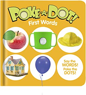 Melissa & Doug 41356 Poke-a-Dot First Words | Activity Books | 3+ | Gift for Boy or Girl