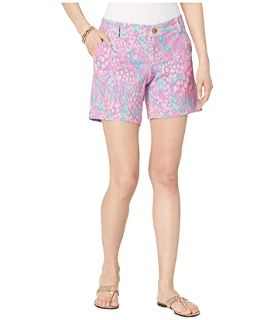 Lilly Pulitzer Jayne Knit Shorts (Pink Sorbet High Altitude) Women