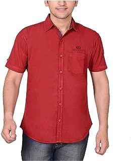 High Hill Men's Cotton Casual Shirt