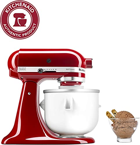 lowest KitchenAid Ice Cream Maker Attachment - Excludes 7, 8, outlet sale and most 6 high quality Quart Models sale