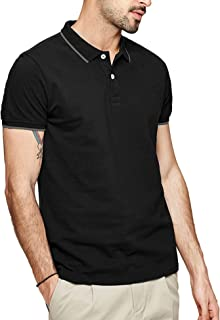 Men's Polo Shirts Short Sleeves Athletic T-Shirts Regular-Fit Golf Shirt
