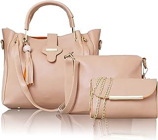 Glowic Handbag For Women And Girls COMBO SET OF 3