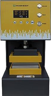 Rosineer AUTO-E - Máquina de prensar caliente híbrida Plug-N-Play 4 toneladas de fuerza, 76 x 127 mm placas aisladas, resistente y sin esfuerzo