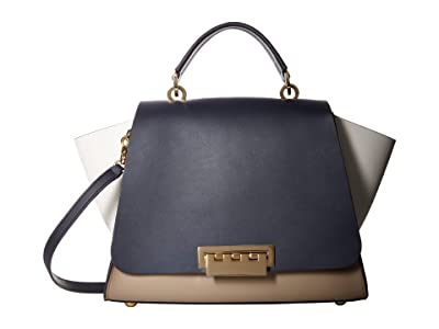 ZAC Zac Posen Eartha Soft Top-Handle Satchel (Parisian Nights) Satchel Handbags