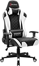 Devoko Gaming Chair Racing Style High Back PC Computer Chair with Adjustable Armrests Ergonomic Office Chair Executive Swi...
