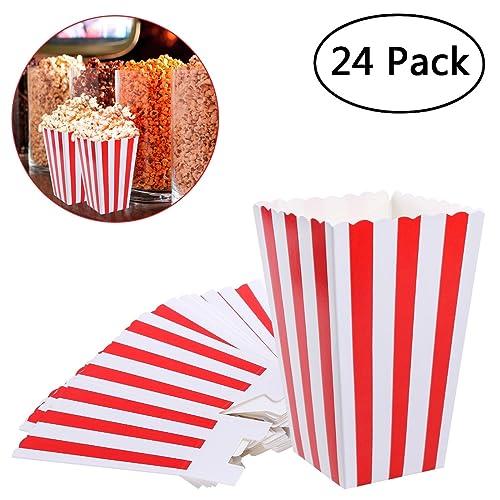 Forniture per l'istruzione Pentole e padelle 500Purple & White pick N mix Candy Stripe Paper Sweet/party/popcorn Bags 10,2x 24,1x 7,6cm