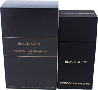 Pascal Morabito Black Agent By Pascal Morabito for Men - 3.3 Oz Edt Spray, 3.3 Oz