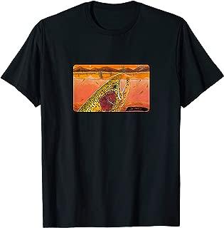 Henry's Fork Riser T-Shirt Derek DeYoung Fishing Gift