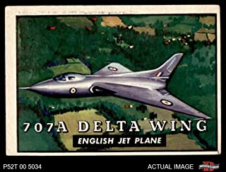 1952 Topps # 111 707A Delta Wing (Card) Dean`s Cards 4 - VG/EX