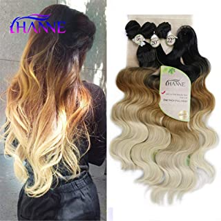 HANNE Ombre Color Hair Synthetic Body Wave Hair 18