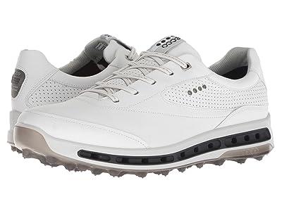 ECCO Golf Cool Pro GORE-TEX(r) (White/Black/Transparent) Men
