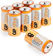 Size C batteries |Pack of 8| GP Batteries |Superb operating time| 14AU | LR14 | 1.5V