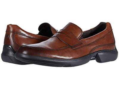 Rockport Total Motion Advance Penny (Cognac (Tan)) Men