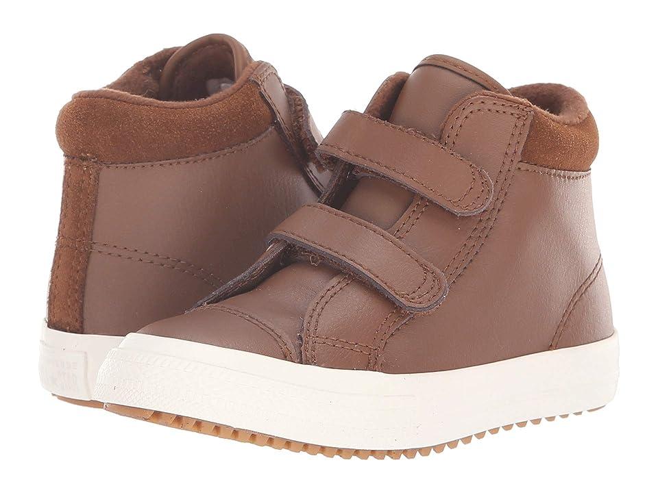 Converse Kids Chuck Taylor(r) All Star(r) 2V Pc Boot Hi (Infant/Toddler) (Chestnut Brown/Burnt Caramel) Boy