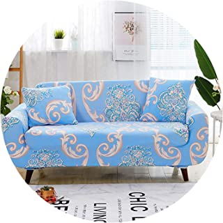 Stretchy Sectional Slipcovers Chair Loveseat Sofa Cover for Living Room Anti-dust Sofa Protection Cover cogines para Sofa 1pc,Color 3,4-Seater 235-300cm