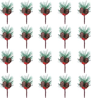 decorative pine branches