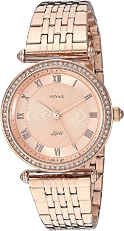 ES4711 Rose Gold Stainless Steel
