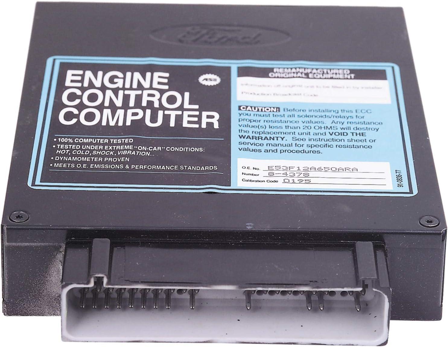Cardone Max 85% OFF 78-4378 Remanufactured Ford Computer Boston Mall