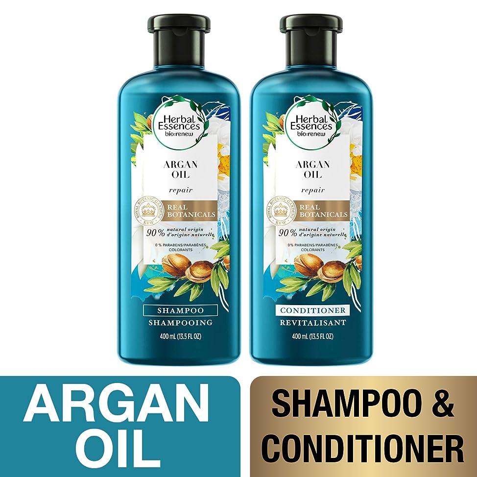 Herbal Essences, Shampoo and Sulfate Free Conditioner Kit, BioRenew Argan Oil of Morocco, 13.5 fl oz, Kit izglitcs103