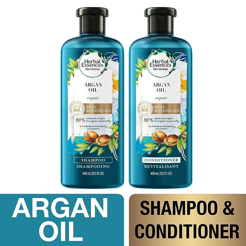 Herbal Essences, Shampoo and Sulfate Free Conditioner Kit, BioRenew Argan Oil of Morocco, 13.5 fl oz, Kit