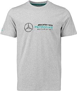 Mercedes Benz AMG Petronas Formula 1 Men's Gray Logo T-Shirt