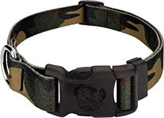 Country Brook Design - Deluxe Dog Collar - Military and Camo Collection