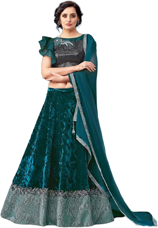 Green Lengha Choli Embroidery Designer Skirt Indian Pakistani Bridesmaids dress Traditional lehenga Choli For Wedding And Party