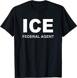 ICE Federal Agent US Border Patrol Halloween Costume T-Shirt