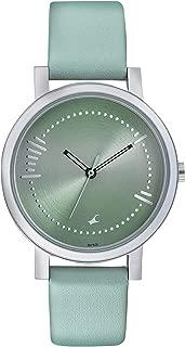 Fastrack Sunburn Analog Green Dial Women's Watch-6213SL01