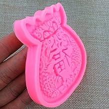 JIFeng Tas Fondant Mould voor Luck Fortune 3D DIY Handgemaakte Mould Baking Gereedschap