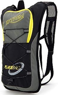 Mochila pequeña para bicicleta para senderismo, escalada, ciclismo, carreras, motociclismo, ultraligera y resistente al agua.