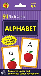 Carson Dellosa | Alphabet Flash Cards | ABCs, Preschool, 54ct