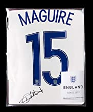 Harry Maguire Official England Back Autographed Signed 2016-17 Home Shirt