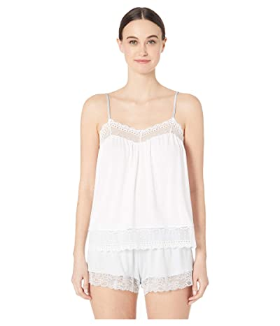 Eberjey Lucie The Sweetie Cami (White) Women